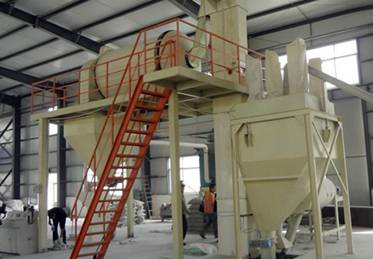 300,000 t/year Full-automatic Dry Mix Mortar Plant